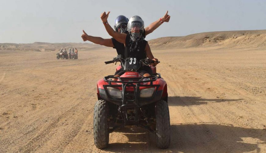 Marsa Alam Quad Biking Safari